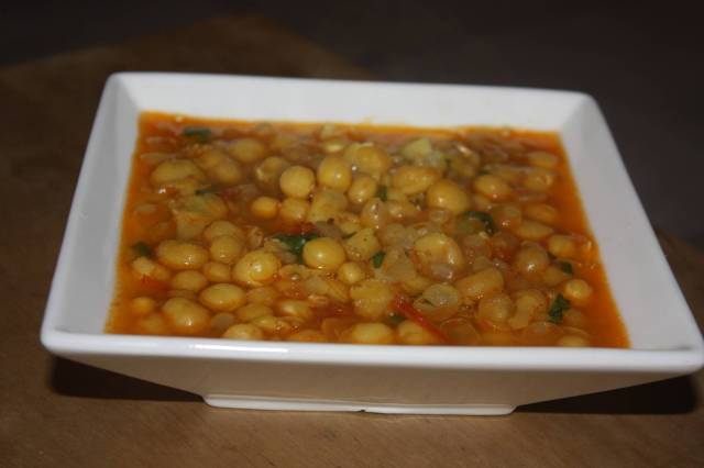 Indian Yellow Peas Soup