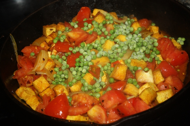 Indian tofu curry